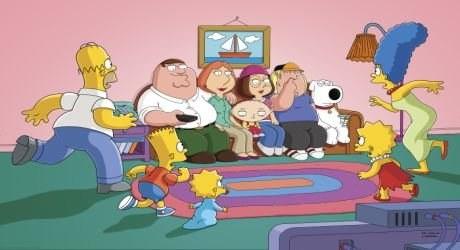 Griffinovi otráví Simpsonovi