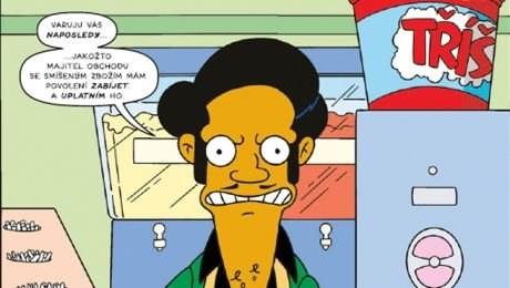 Prčou napakovaní Simpsonovi
