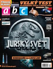 Titulka časáku ABC čísla 12/2015 z června